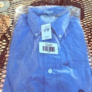 Abercrombie Men's S Long Sleeve Button Shirt NWT